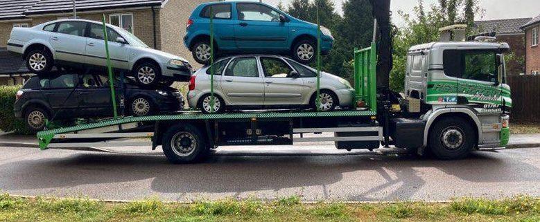 Assington Autos Picking Up Scrap Cars